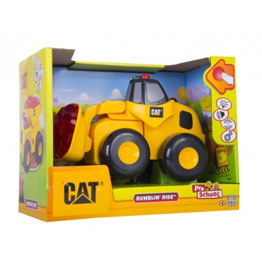 Pala Mecanica Rumbling Ride CATERPILLAR - TOY STATE  Pre School Amarilla
