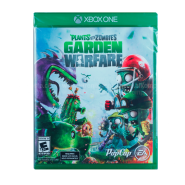 Video Juego XBOX ONE Plants Vs Zombies Garden Warfare