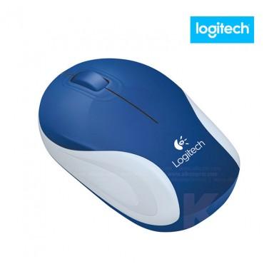 Mouse LOGITECH Mini Inalámbrico M187 Azul