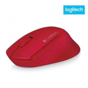 Mouse LOGITECH Inalámbrico M280 Rojo