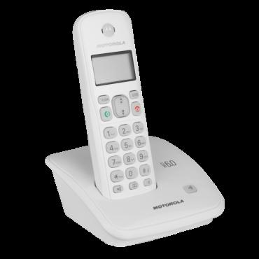 Teléfono MOTOROLA Inalámbrico Blanco
