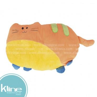 Cojín infantil K-LINE Gato Naranja