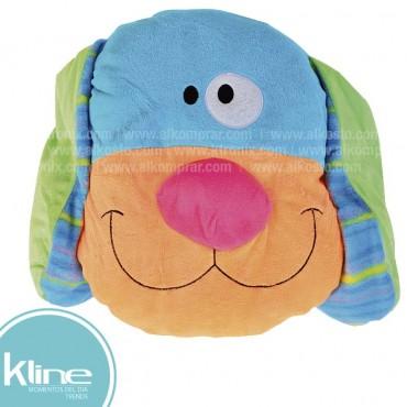 Cojín K-LINE infantil Perro Multicolor
