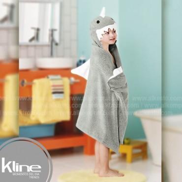 Toalla infantil K-LINE Tiburón