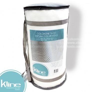 Colchoneta K-LINE memory foam 140x190x5 cm