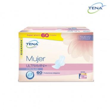 Protector Incontinencia TENA Mujer U/Min x60 Unidades