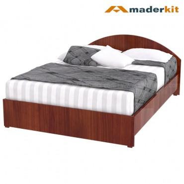 Cama Doble MADERKIT Cedro Cresent 00772-CA-C-R