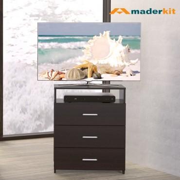 "Cómoda TV 32"" MADERKIT Wengue 01032-CO-W-R"