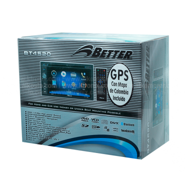 Radio DVD BETTER BT4520 GPS