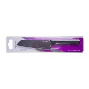 Cuchillo de Cocina FREE HOME Santoku 12.7 Cms Negro