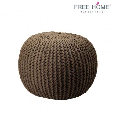 Asiento Puff FREEHOME Negro