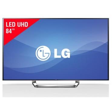 """TV 84"""" LED LG 84LA980T UHD Internet 3D"""