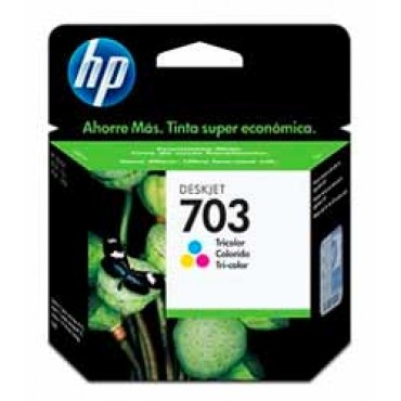 Cartucho HP 703 CD888AL Tricolor