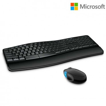 Combo MICROSOFT Teclado + Mouse Sculpt Comfort