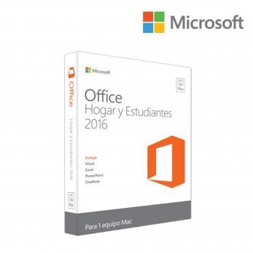 Office MICROSOFT Mac Home & Student 2016