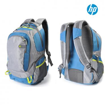 """Morral HP Outdoor 15.6"""" Gris/Azul"""