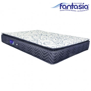 Colchón FANTASÍA Semidoble Blue Balanced 120x190 cms
