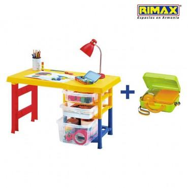 Escritorio Infantil RIMAX Multicolor +Obsequio