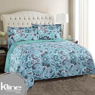 Edredón K-LINE King Coral Fleece Verde