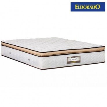 Colchón ELDORADO Doble Florence 140x190 cms Resortado