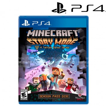 Videojuego PS4 Minecraft Story Mode