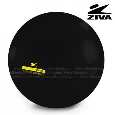 Balón de 55cm ZIVA Negro