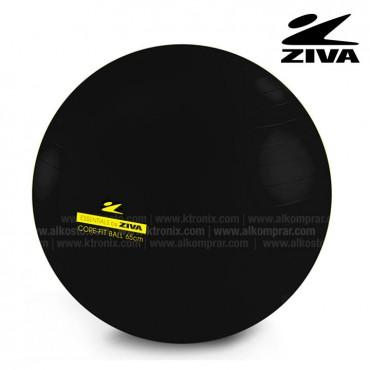 Balón de 65cm ZIVA Negro