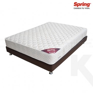 KOMBO: Colchón SPRING Passion New One C Doble + Base Cama Salim Doble
