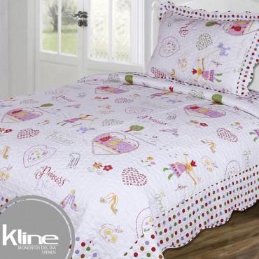 Cubrecama K-LINE Semidoble Princess