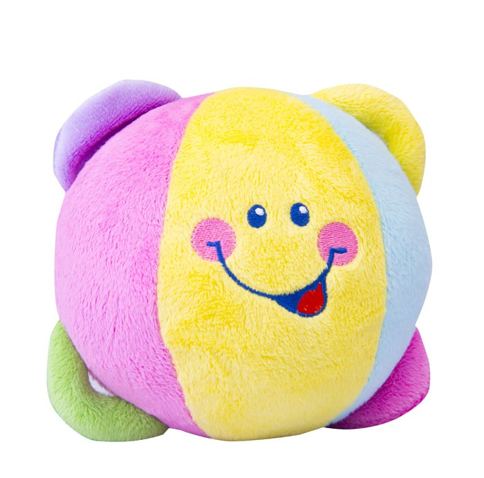 Juguete bola actividad soft steps colores for Bola juguete