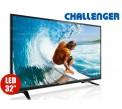 "TV 32"" 80cm LED CHALLENGER 32M1 HD T2"