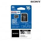 Memoria MicroSD Alkosto SONY 16GB+Adaptador Cl10