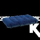 Almohada INTEX Inflable Azul