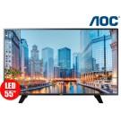 "KOMBO: Tv 55"" 140cm LED AOC 55F1861 FullHD Internet + Tv 24"" 60cm LED AOC LE24F1551 HDT2"