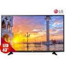 """TV 43"""" 109cm LED LG 43UF640 Ultra HD Internet"""