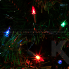 Luces Navidad Azul Rojo Y Amarillo