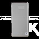 Clear Cover SAMSUNG S6 edge Plus Silver