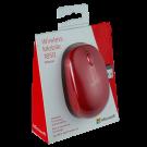 Mouse MICROSOFT 1850 Wireless Mobile Rojo