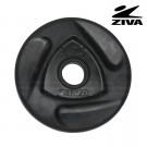 Disco encauchetado 1.25 kg ZIVA Negro