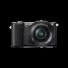 Cámara Sony Profesional ILCE-5000L Negra