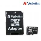 Memoria VERBATIM MicroSD Cl4 8GB