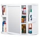 Gabinete RIMAX para Baño + Espejo Blanco