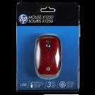 Mouse HP Optico USB Rojo