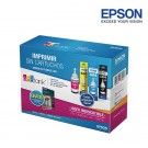 Kit Botellas de Tinta EPSON T664 + Papel Fotográfico
