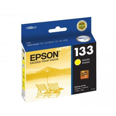 Cartucho EPSON T133420-AL TX125 Yellow