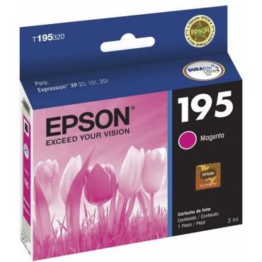 Cartucho EPSON T195320 Magenta