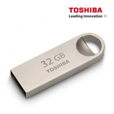 Memoria Mini USB TOSHIBA 32Gb 2.0 Metalica
