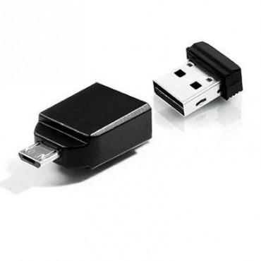 Memoria VERBATIM Nano USB 32 GB con adaptador