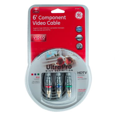 Set GENERAL ELECTRIC de Cables de Video