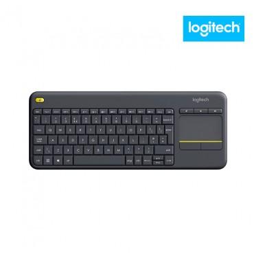 Teclado LOGITECH Touch Inalámbrico Alfanumérico Negro